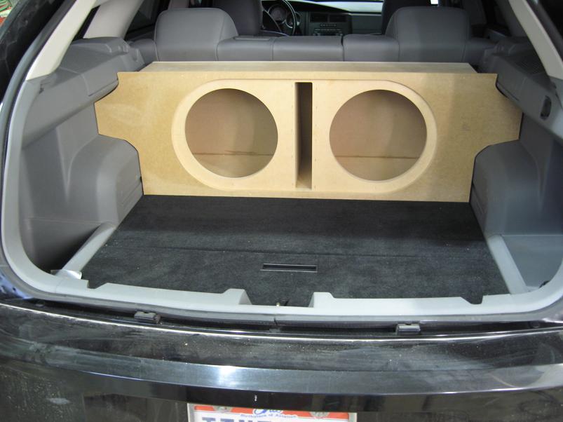 Dodge magnum subwoofer box
