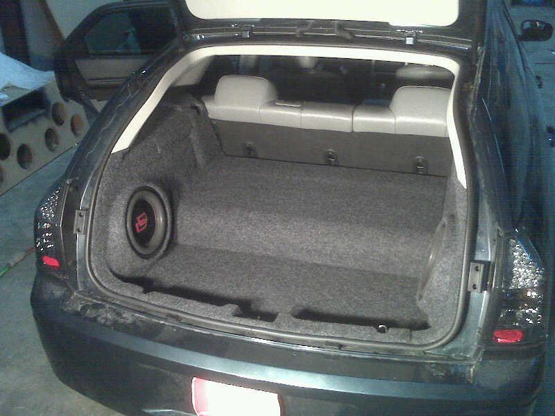 Those With Fiberglass Rear Side Sub Enclosures