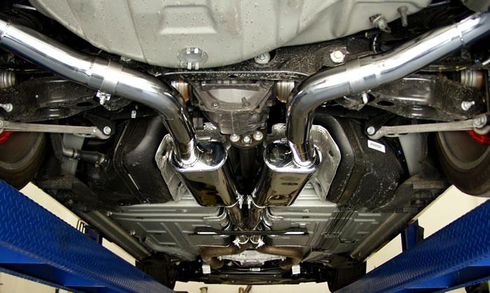 09 Challenger Exhaust On An Sxt Magnum Heat Shield