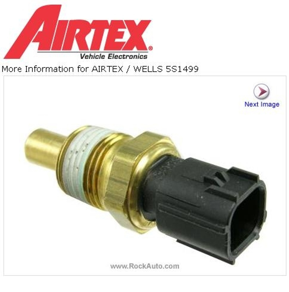 Coolant Temperature Sensor Cannot Locate It Together With Crankshaft Position Location On Dodge Ram Sending Unit