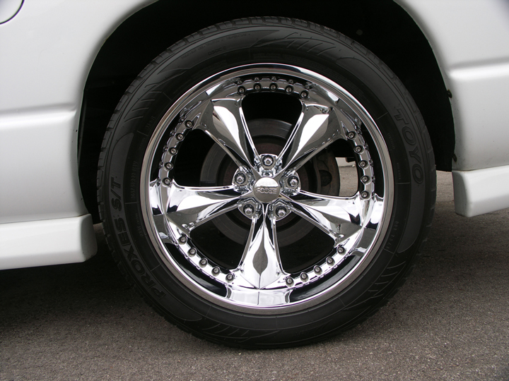 "Toyo Tires Proxes >> Ram 1500 22"" Foose Nitrous Wheel & Tires"