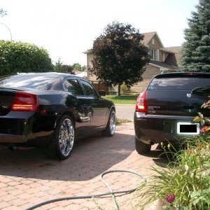 Best Friends - Our Charger & Magnum R/T's