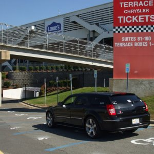 My Srt8 @ Lowes Motor Speedway