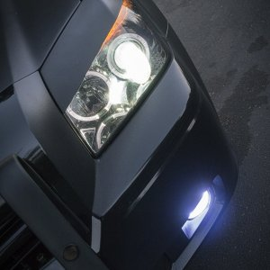Push Bumper and Prototype Fog Lights